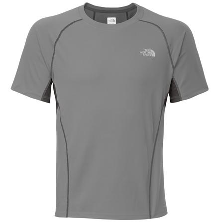The North Face GTD Short Sleeve Running Shirt (Men's) - Monument Grey