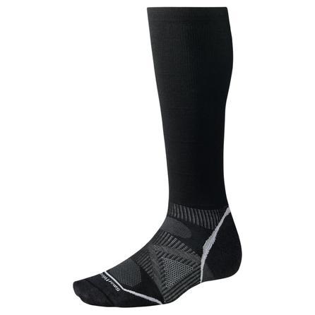 SmartWool Ultra-Light Compression Ski Sock (Men's) - Black