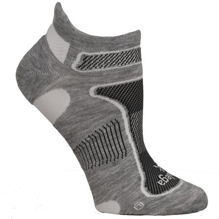 Balega Ultra Light No Show Running Sock (Adults') - Grey/White