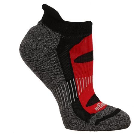 Balega Blister Resist No Show Running Sock (Adults') - Black/Red