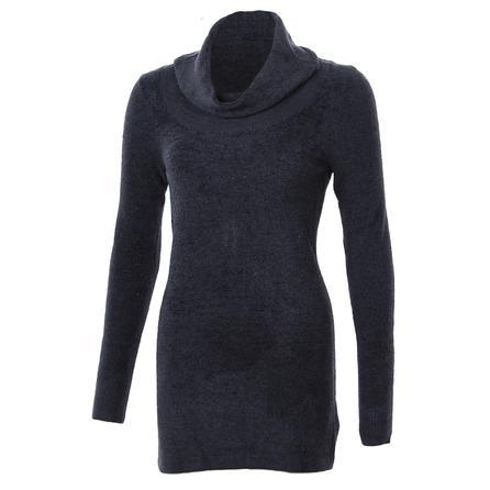 ExOfficio Irresistible Dolce Cowl Neck Sweater (Women's) - Black