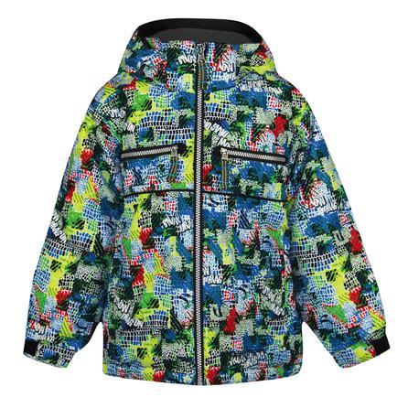 Snow Dragons Traveler Ski Jacket (Little Boys') - Scales Print
