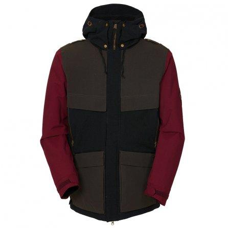 686 Parklan Field Insulated Snowboard Jacket (Men's) - Coffee Ripstop
