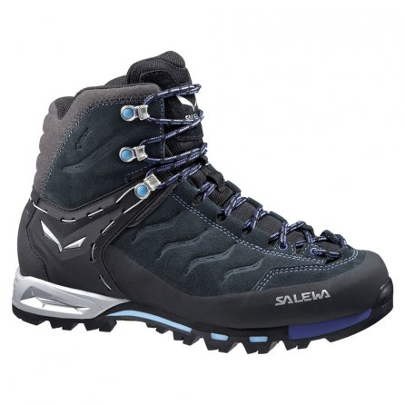 Salewa Mountain Trainer Mid GORE-TEX Hiking Boot (Women's) - Carbon/River Blue