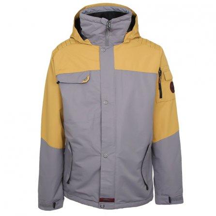 Liquid Rebel Insulated Snowboard Jacket (Men's) - Bronze Mist