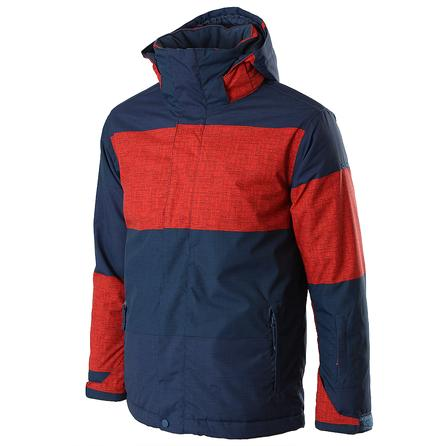 Quiksilver Mission Print Insulated Snowboard Jacket (Boys') -