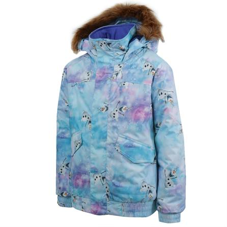 Burton Twist Bomber Insulated Snowboard Jacket (Girls') - Olaf Frozen Print