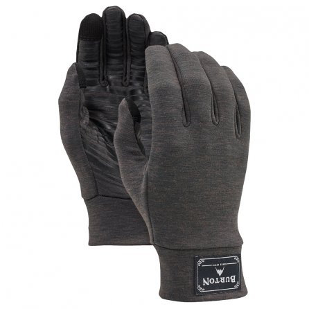 Burton drirelease Wool Liner Glove - True Black Heather