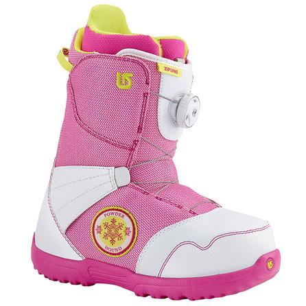 Burton Zipline Boa Snowboard Boots (Kids') - White/Pink