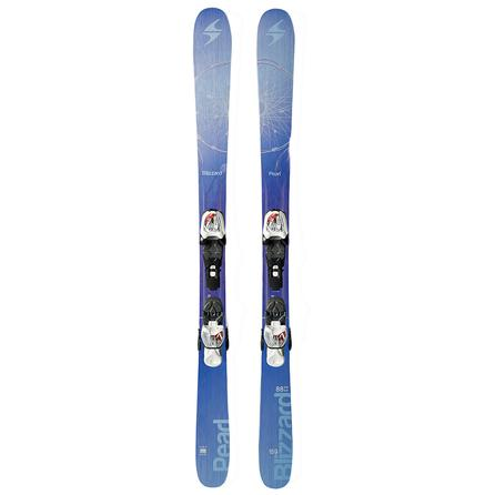 Blizzard Pearl Twin Jr IQ Ski System with Bindings (Girls') -