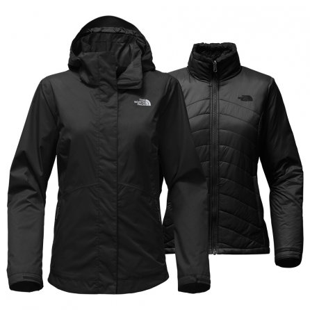 The North Face Mossbud Swirl Triclimate Ski Jacket (Women's) - TNF Black