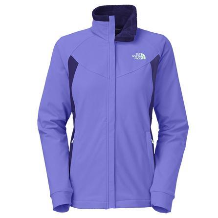 The North Face Ruby Raschel Softshell Jacket (Women's) - Starry Purple/Garnet Purple