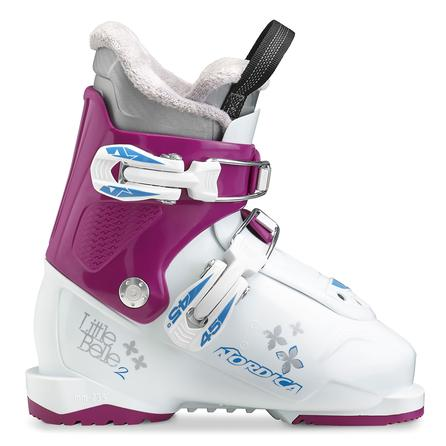 Nordica Little Belle 2 Ski Boot (Kids') - White/Purple