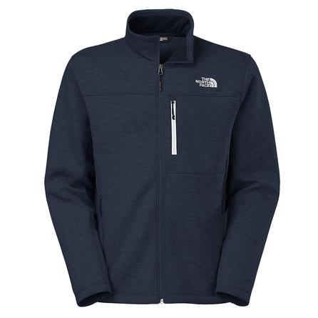 The North Face Haldee Full Zip Sweater (Men's) - Cosmic Blue Heather