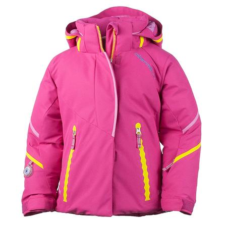Obermeyer Brier Insulated Ski Jacket (Little Girls') - Wild Pink