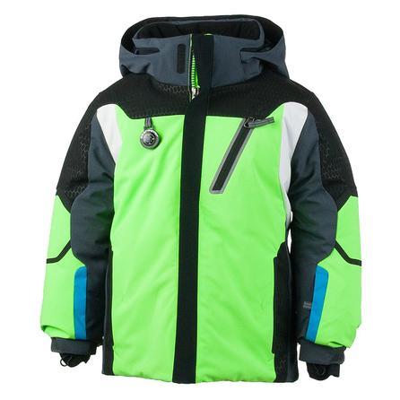 Obermeyer Raider Insulated Ski Jacket (Little Boys') - Glowstick