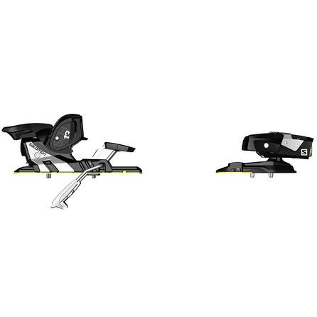 Salomon STH2 WTR 13 Ski Bindings (Adults') - Black/White