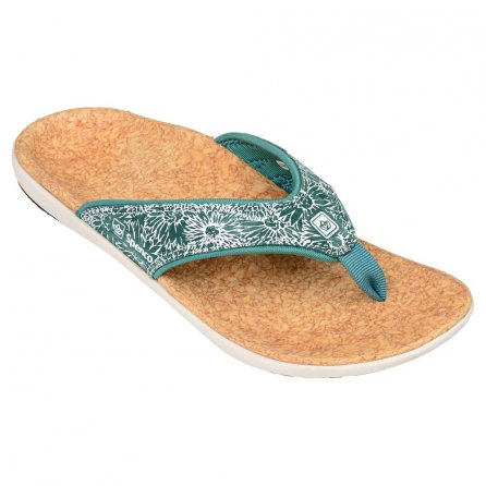 Spenco Yumi Canvas Sandals (Women's) - Daisy Tide