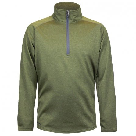 Boulder Gear Charge Micro Half Zip Fleece Mid-Layer (Boys') - Dark Olive