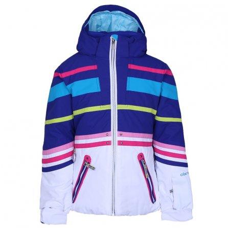 Obermeyer Sundown Insulated Ski Jacket (Little Girls') - White