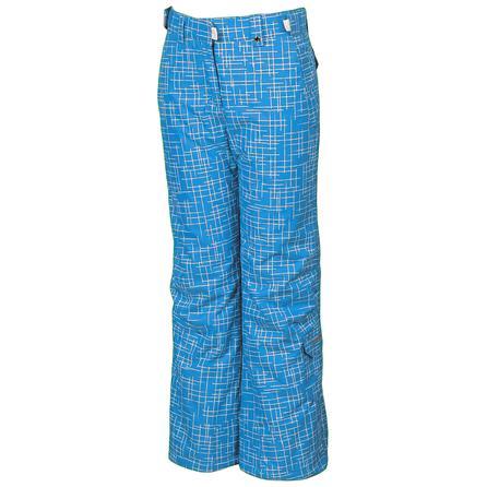 Karbon Luna Insulated Ski Pant (Girls') - Blue Print