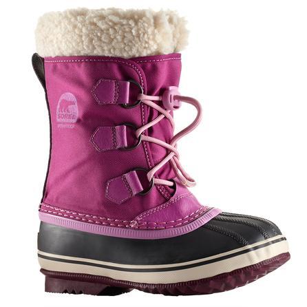 Sorel Yoot Pac Nylon Boot (Girls') - Very Berry