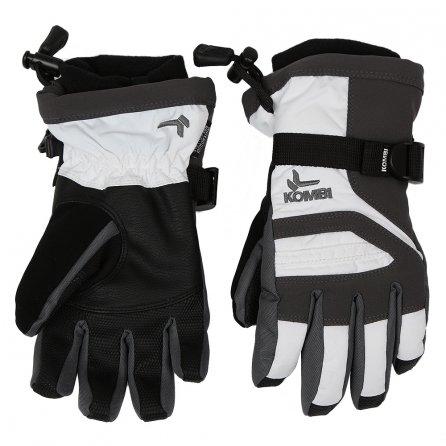 Kombi Storm Cuff III Glove (Kids') - White/Gunmetal