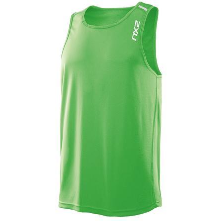 2XU X-Tech Slinglet Running Shirt (Men's) - Green