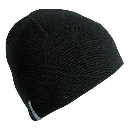 F-UR Headwear Wool Travel Beanie (Men's) - Black
