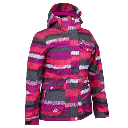 Jupa Ella Insulated Ski Jacket (Girls') - Polish Grey Print