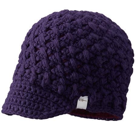 Screamer Hats Swizzle Billed Beanie (Women's) - Purple Passion