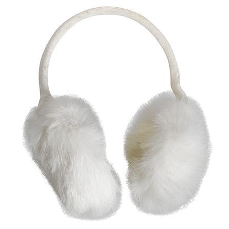 Turtle Fur Lucky Rabbit Fur Earmuffs (Women's) - Ivory