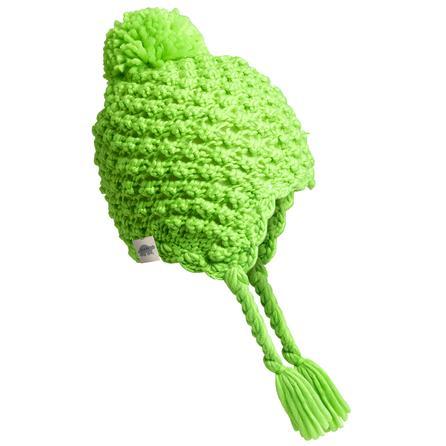 Turtle Fur Wiggly Jiggly Ski Hat (Girls') - Lime