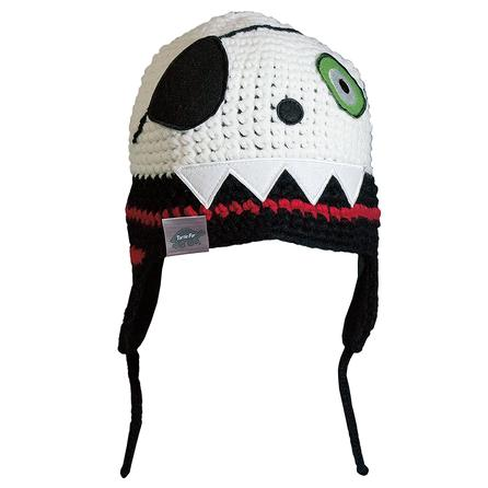 Turtle Fur Numb Skully Ski Hat (Kids') - Black