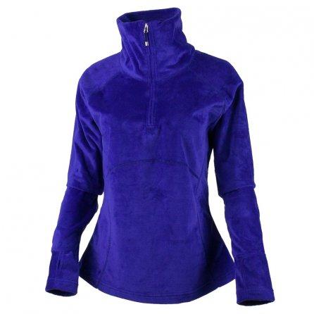 Obermeyer Brandi Half Zip Fleece Mid-Layer (Women's) - Purple Reign