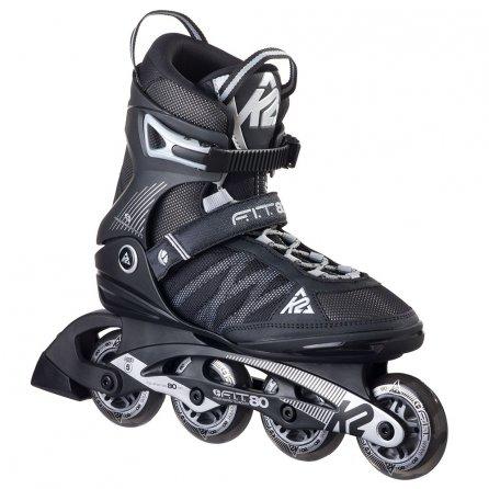 K2 F.I.T. 80 Inline Skates (Men's) - Black/Silver