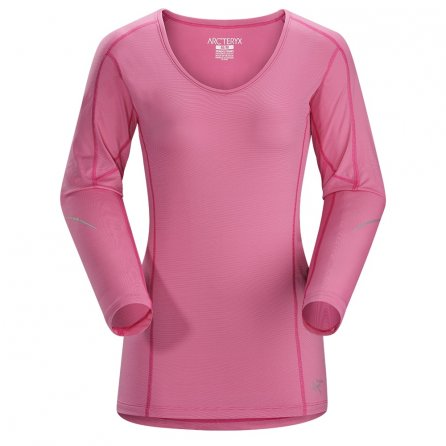 Arc'teryx Motus Crew Long Sleeve Shirt (Women's) - Houli Pink