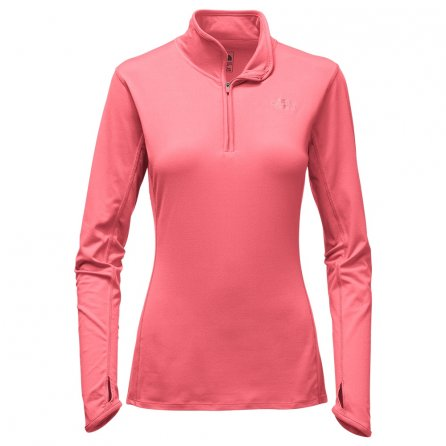 The North Face Motivation Half Zip Sweater (Women's) - Calypso Coral