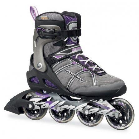 Rollerblade Macroblade 84 Alu Inline Skates (Women's) - Black/Purple