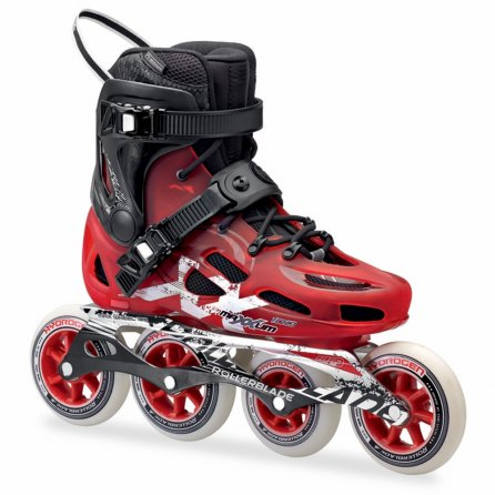 Rollerblade Maxxum 100 Inline Skates (Men's) - Red/Black
