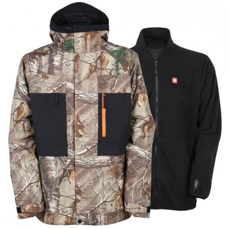 686 Smarty Form 3-in-1 Snowboard Jacket (Men's) - Real Tree Camo