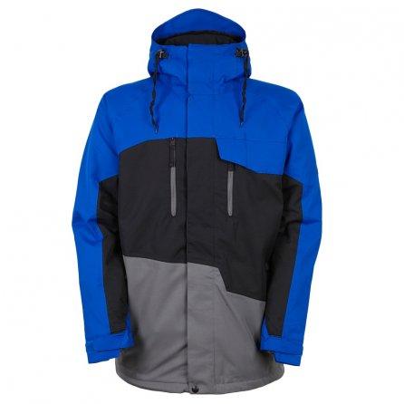 686 Geo Insulated Snowboard Jacket (Men's) - Cobalt Colorblock