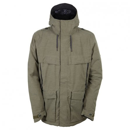 686 Parklan Field Insulated Snowboard Jacket (Men's) - Olive Heather
