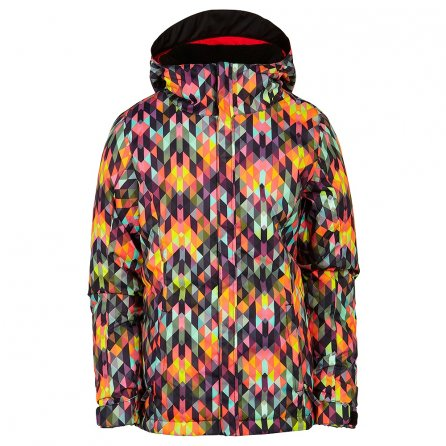686 Flora Insulated Snowboard Jacket (Girls') - Kaleidoscope