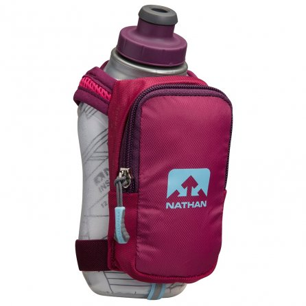 Nathan SpeedShot Plus Running Water Bottle - Sangria/Magenta Purple