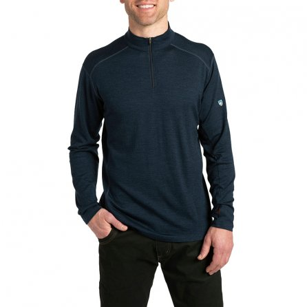Kuhl Skar Half Zip Sweater (Men's) - Pirate Blue