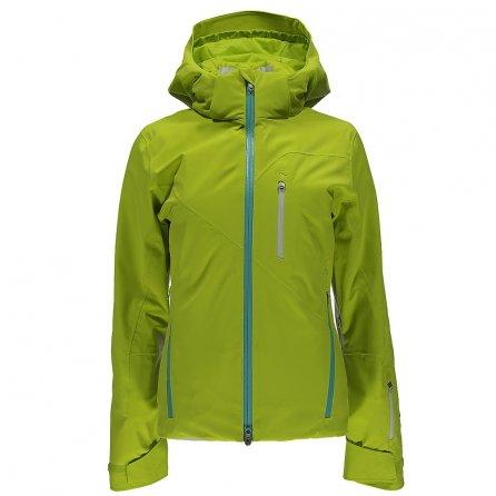 Spyder Fraction Ski Jacket (Women's) - Acid/Freeze/White