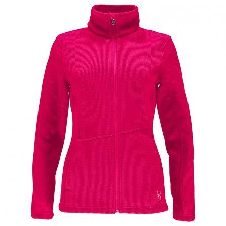 Spyder Endure Full Zip Mid Weight Stryke Jacket (Women's) - Bryte Pink
