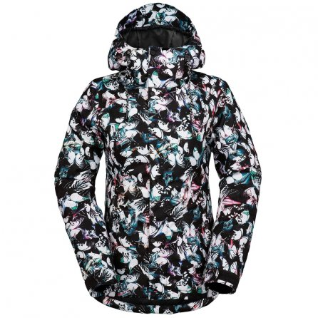 Volcom Bolt Insulated Snowboard Jacket (Women's) - Flutter Collage Print