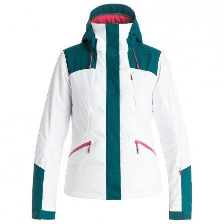 Roxy Flicker Insulated Snowboard Jacket (Women's) - Bright White